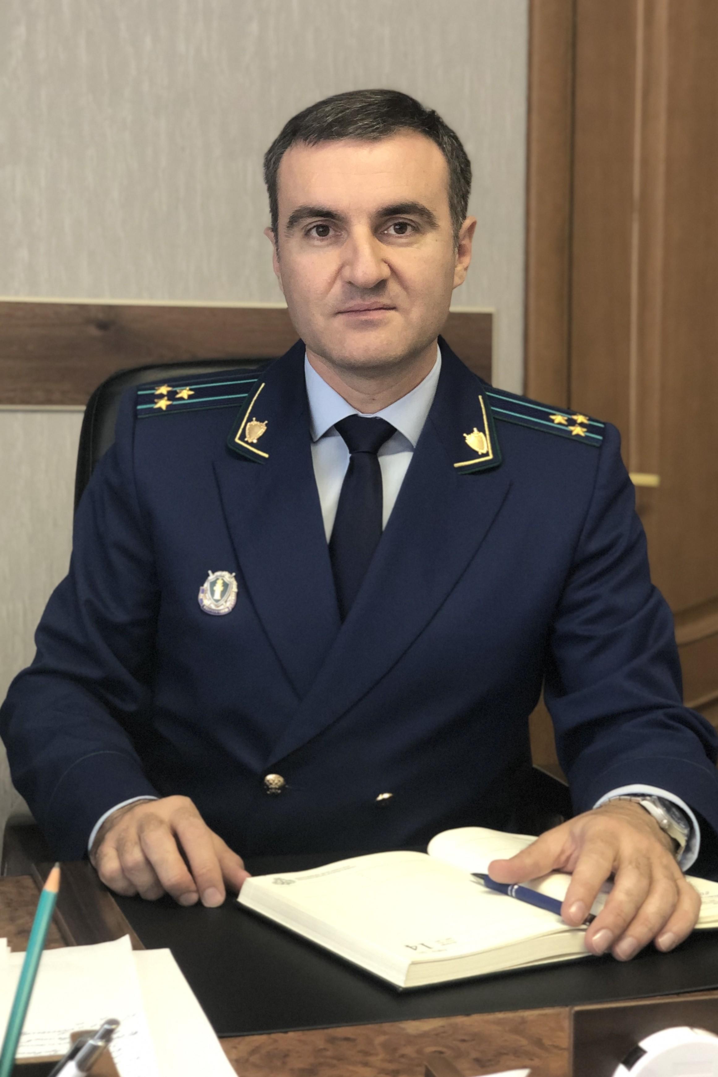 Заместитель прокурора Липецкой области