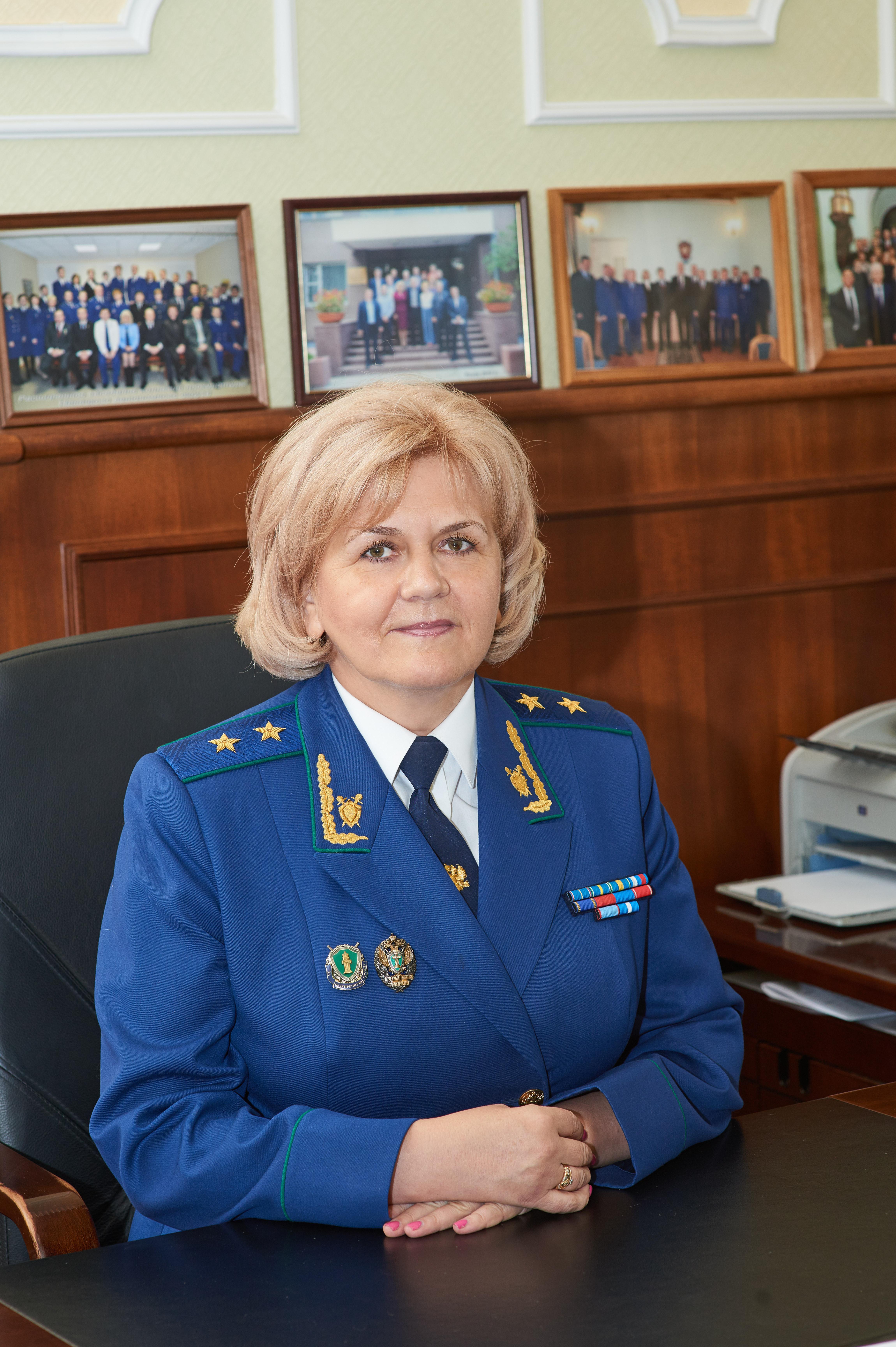 Начальник управления Генеральной прокуратуры Российской Федерации в Северо-Западном федеральном округе